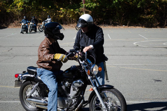 motor cycle training